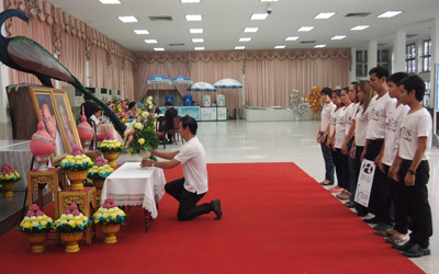 Hotel & Resort Stylish Co.Ltd. & Steve Café & Cuisine team visits Siriraj Hospital to extend best wishes to His Majesty the King